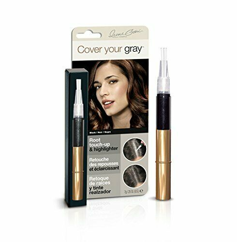 Cover Your Gray Root Touch-up and Highlighter - Black (2-PACK)