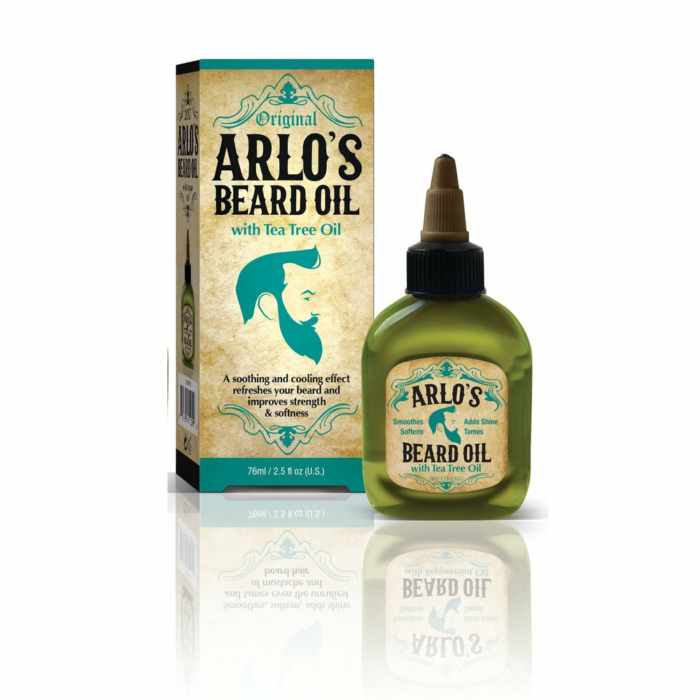Arlo's Beard Oil with Tea Tree Oil 2.5 oz. (6-PACK)