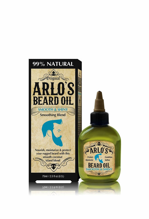 Arlo's Beard Oil - Smooth and Shiny 2.5 oz. (6-PACK)