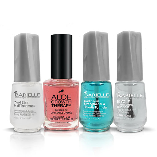 Barielle Nail Strengthener Banquet -Deluxe 4-PC Nail Strengthening Set
