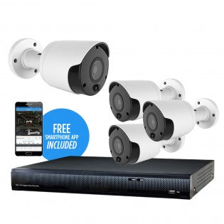 4CH HD Digital Video Recorder Package