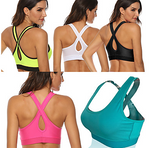 Women's Sports Bra BreathableHigh Impact Comfortable#07879301