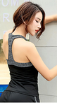 Women's Racerback Top Sleeveless Activewear #07291870