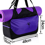 Yoga Mat Bag / Tote  Yogis, Waterproof, Lightweight Canvas leather#06573736
