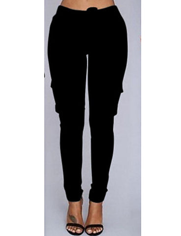 Women's Daily / Going out Plus Size Sexy Sporty Legging - Solid Colored#06886279