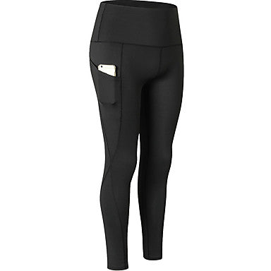 Women's High Waist Yoga Pants Pocket Fashion Activewear#07724473
