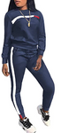 Two Piece Side Stripe Tracksuit Reflective Long Sleeve #07869525