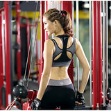 Women's Sports Bralette Racerback Yoga Pilates Activewear#04960512