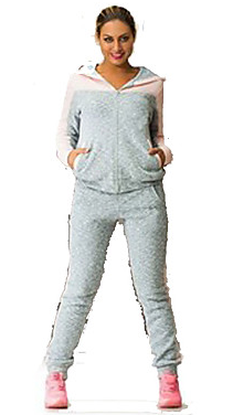 Women'sTracksuit Plus Size Hoodie Pants / Trousers Clothing Suit Long Sleeve Activewear #07008458
