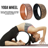 Cork Yoga Round Circle Exercise Wheel Pilates Training Wheel Yoga Accessories