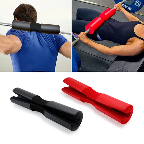 Foam Padded Barbell Cover For Weight Lifting Shoulder Back Support Dumbbell Accessories