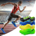 Professional Spike Shoes Track and Field Men Training Track Jumping Soft Sneakers