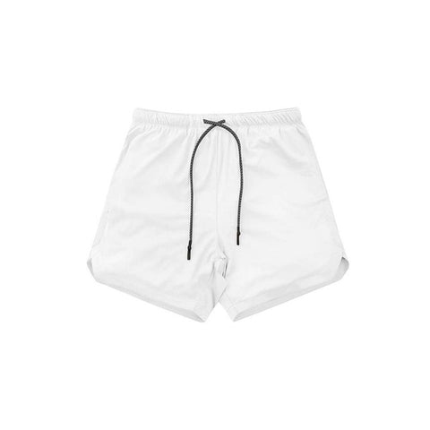 Men's Running  2 in 1 Sports Shorts double-deck Quick Drying Gym Shorts