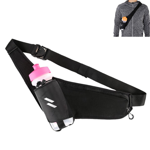 Running Waist  Pouch With Bottle Pocket Fanny Pack Gym Accessories Men Women
