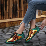 Reflective Footwear Women's Sports Running Designer Shoes Fitness