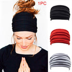Women/Men Elastic Sport Hairbands Yoga Headwrap Girls Hair Accessories