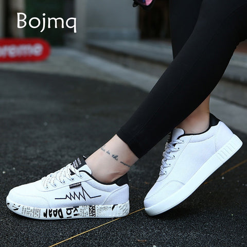 Women's Sneakers 2020 New Light Weight Canvas Flat Fitness Student Shoes
