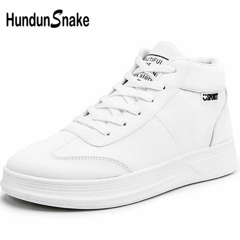 Hundunsnake High Top Sneakers  Hip Hop Lady Sports Shoes