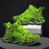 INS Running Shoes for Men Breathable Trainers Graffiti Jogging Shoes