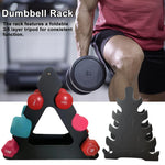 3/5 Layer Dumbbells Rack  Weight Storage Fixed Combination Dumbbell Holder