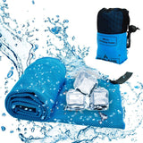 Icy Cool Towel Sweat Absorbing Quick Dry Instant Cooling Towels Sport Accessories
