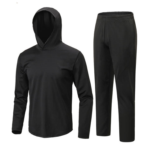 Men's Tracksuit Gym Sportswear Quick Dry Fitness Sports Top Running Pants  2XL