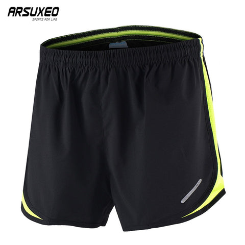 ARSUXEO Men's Shorts Breathable  Jogging Training Fitness Trousers Quick Dry B165