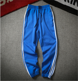 Men's Track Pants Striped Sports Pants Soccer Track Pants Brand multicolor large sizes