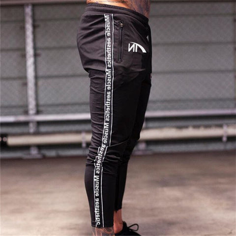 High Quality Men's Sweatpants Fitness Joggers Workout Trousers Cotton Pants
