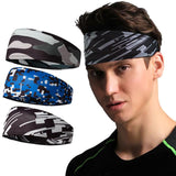 Sweat Absorption Headband Stretchable Polyester Hair Accessories