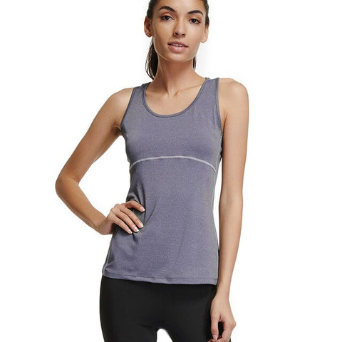 Joyshaper Plus Size Women Activewear Workout Compression Dry Tank Tops