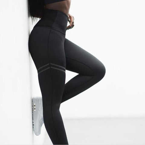 Women High Waist Yoga Fitness Gym Sports Leggings  M-3XL Plus Size