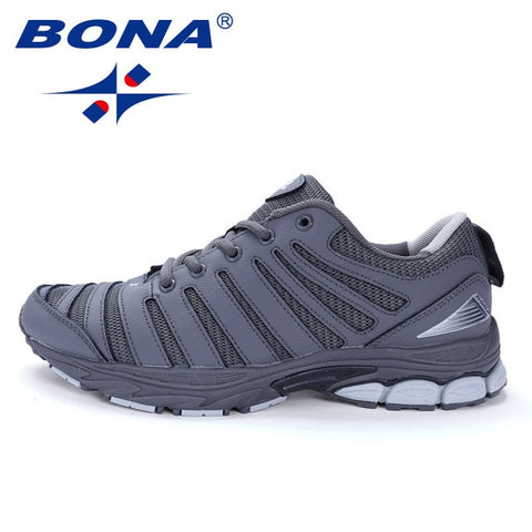 BONA Bassics Style Men Running Walking Jogging Lace Up Comfortable shoes