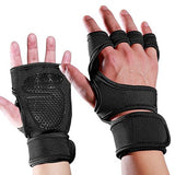 Fitness Gloves Silicone Palm Hollow Back Gym Weightlifting Crossfit Bodybuilding