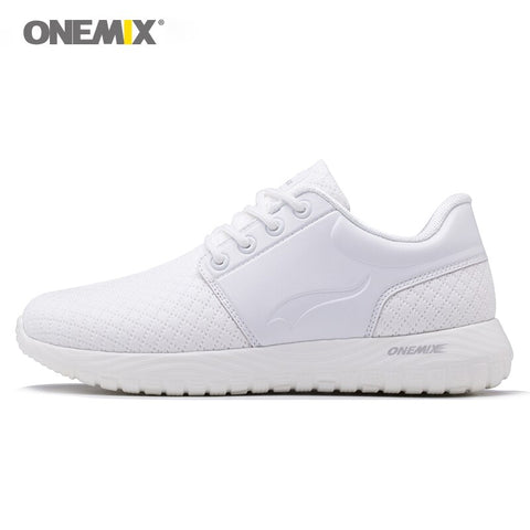 Onemix Running Shoes for Men  Lace Up Breathable Sports Sneaker