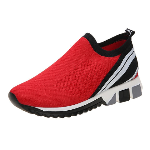Tennis sports shoes ladies plus size  one pedal leisure fitness walking running shoes