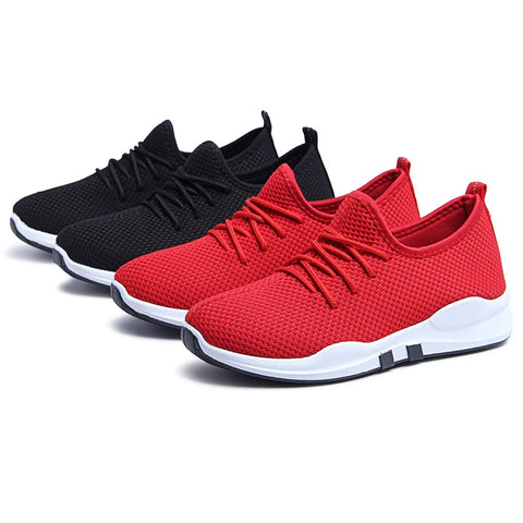 Running Shoes For Women Lace-up Breathable Mesh