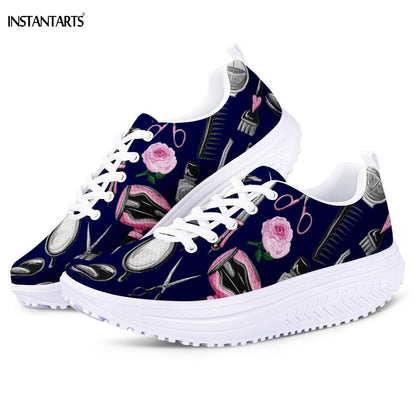 Stylist/Hairdresser Equipment Pattern Women's Fitness Workout Swing Sport Shoes