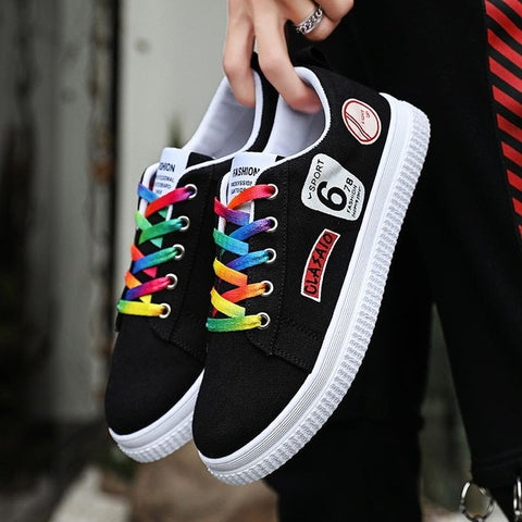 Summer Women's Sport Shoes Canvas Breathable Tennis Shoes