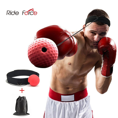 Kick Boxing Reflex Ball Head Band Speed Training Punch Ball