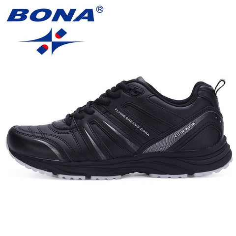 BONA  Men Running Shoes Breathable Sneakers Comfortable Shoes