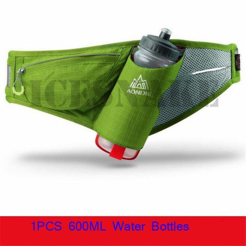 AONIJIE Sport  Marathon Running Water Belt Men Women Waist Packs Running Accessories