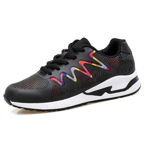Women's sport Light running shoes walking breathable comfort mesh sneakers