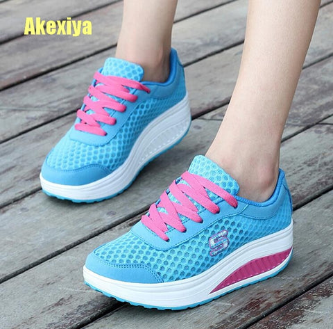 Casual Women's Shoes Platform Flats Lady Trendy Health Wedges