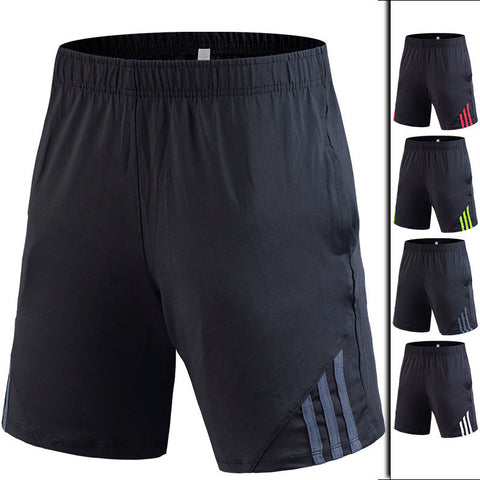 Men's Shorts Quick Drying Breathable Training Exercise Jogging Large Size With Pocket