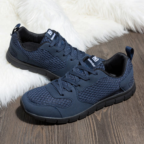 Large Size Shoes Men Mesh Breathable Comfortable Lightweight Sneakers