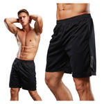 Summer Men's Large Size Compression quick-drying sports pockets fitness