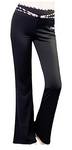 Conny Women's Flare Leg Yoga Pants Plus Size Waterproof #05019570
