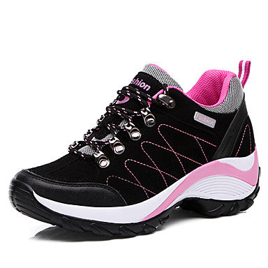 Women's Athletic Shoes Flat Heel Round Toe Casual/ Hiking Shoes#07533166
