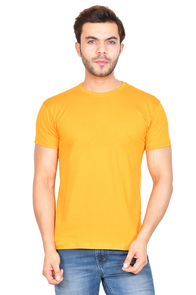 Solid Mustard Yellow